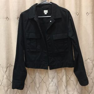 Black Denim Jacket NWOT